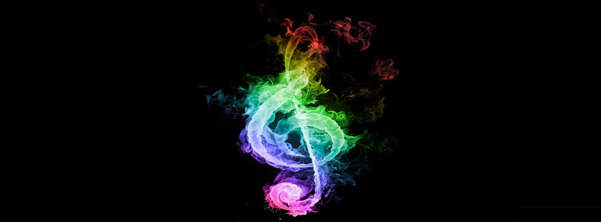 Music Clef facebook cover Photo