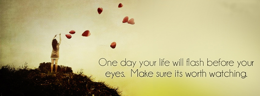 your life-facebook cover image