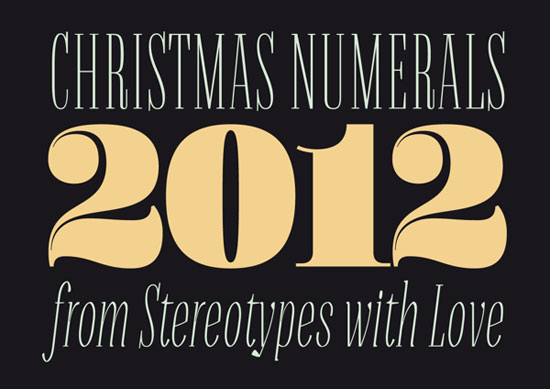 Christmas-Numerals