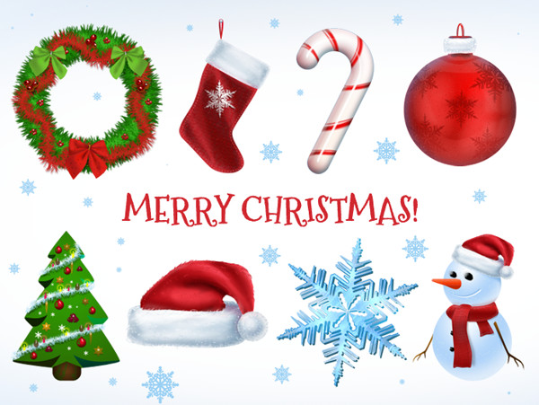 Free Xmas Icons PSD and PNG