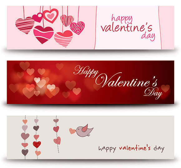 Valentines-Banners-Vector-Graphic
