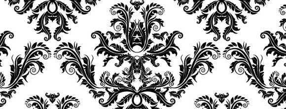 Damask-Pattern-Vector