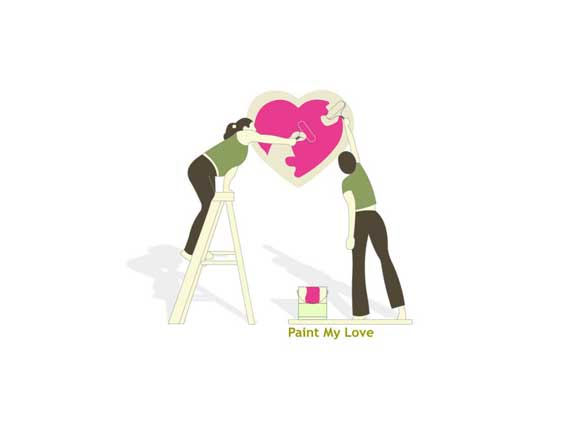 Painted-love