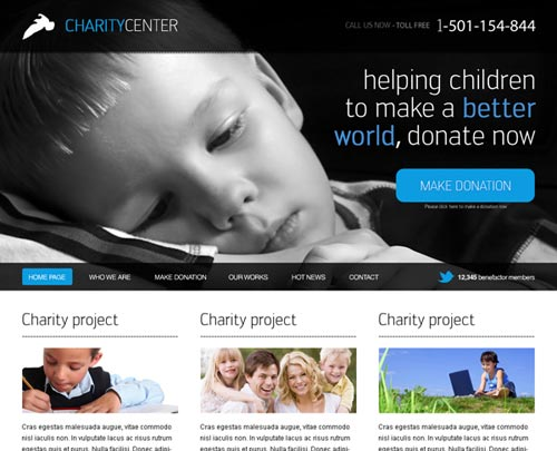 Charity-Template
