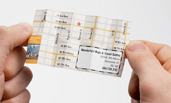 Map Business Card 2