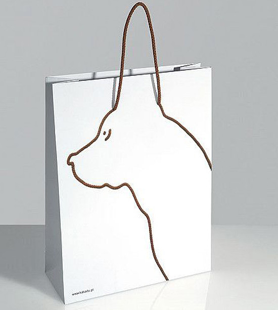 Paper Bag with Dog Ear Handles