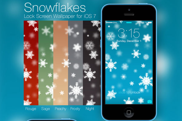 Christmas-Snowflakes-Wallpaper-for-iPhone