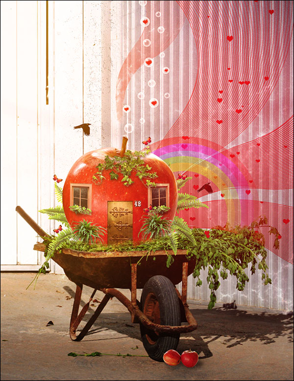 35-Photo-Manipulation-apple-farm