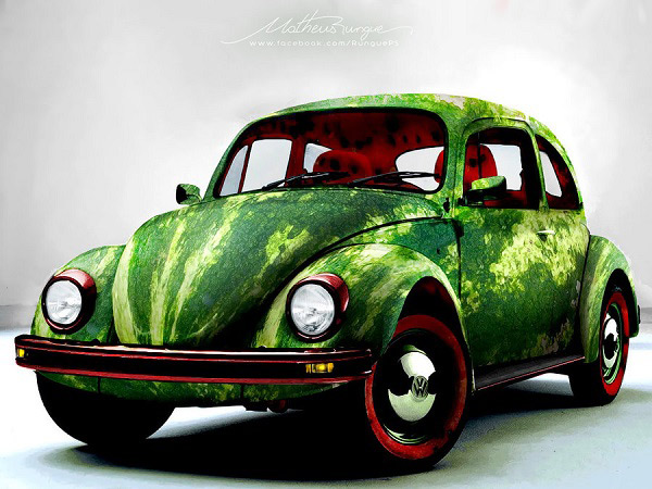 38-Photo-Manipulation-WatermelonCar