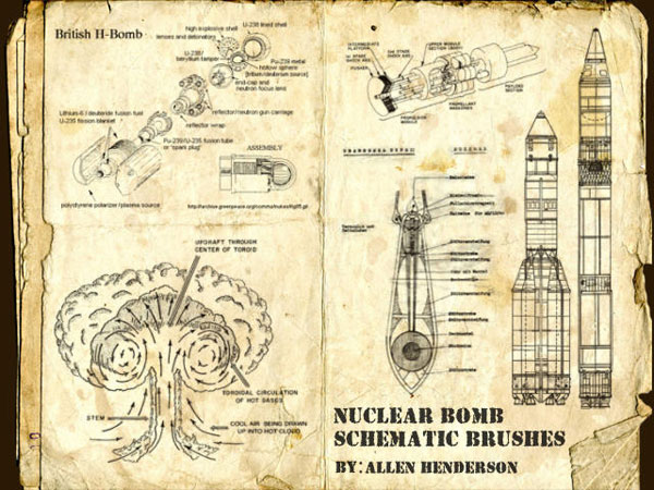 Nuclear-Bomb-Brush-Diagrams-schematics