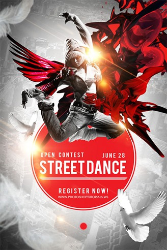 Captivating-Street-Dance-Competition-Poster