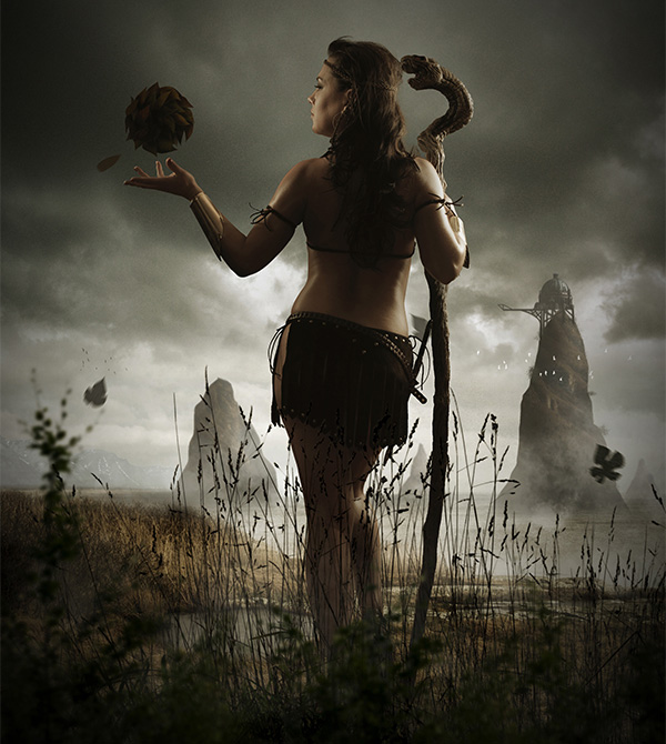 Photo-Manipulate-a-Mystical-Tribal-Warrior