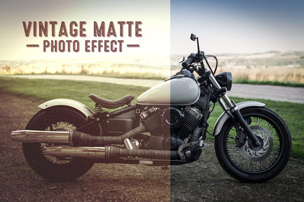Create a Washed Out Vintage Matte Photo Effect