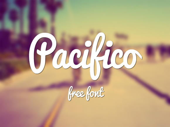 1 Pacifico-free-handwritten-fonts
