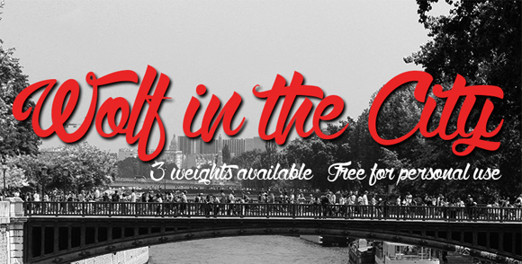 Wolf in the City3-free-handwritten-fonts