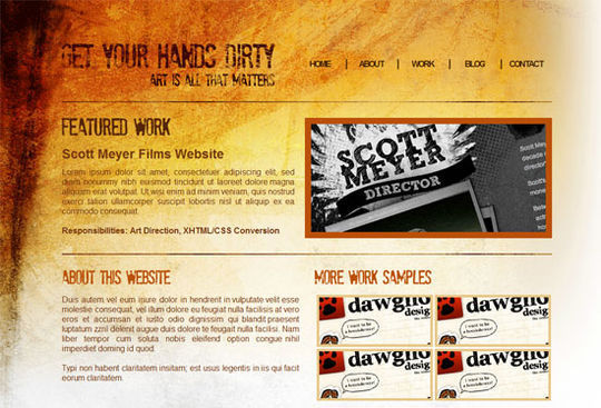 How to Code a Grunge Web Design from Scratch