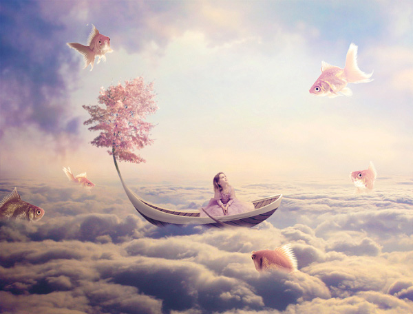 Surreal-Fish-Scene-with-Pastel-Colors-Photo-manipulation