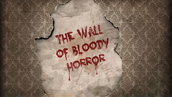 Create a Vintage Bloody Text Effect Wallpaper Design