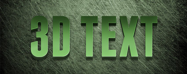 Editable-3D-Text-Effect-Tutorial