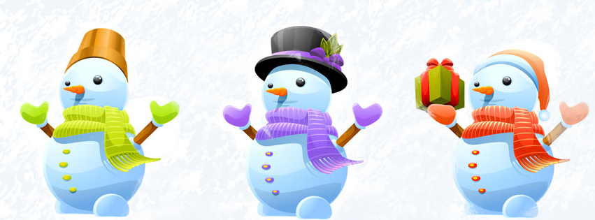Cute-Snowman-Christmas-Facebook-Cover-Image 13