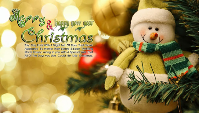 Merry Christmas and Happy New Year Quotes 2016