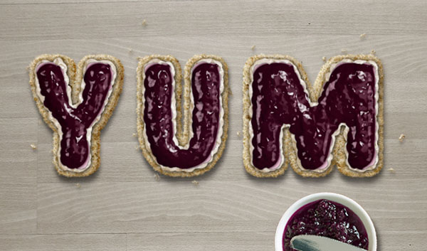 Marvelously British Scone Text Effect