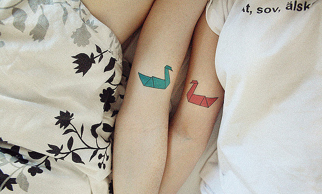 Matching Tattoos for Couple 1