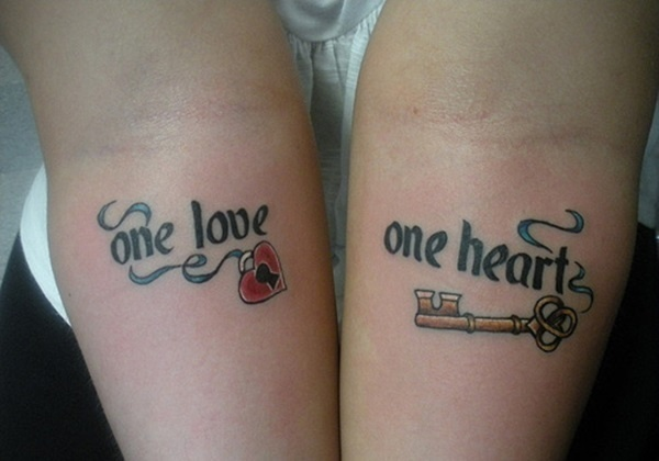 Matching Tattoos for Couple 4