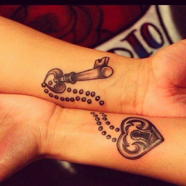 Matching Tattoos for Couple 40