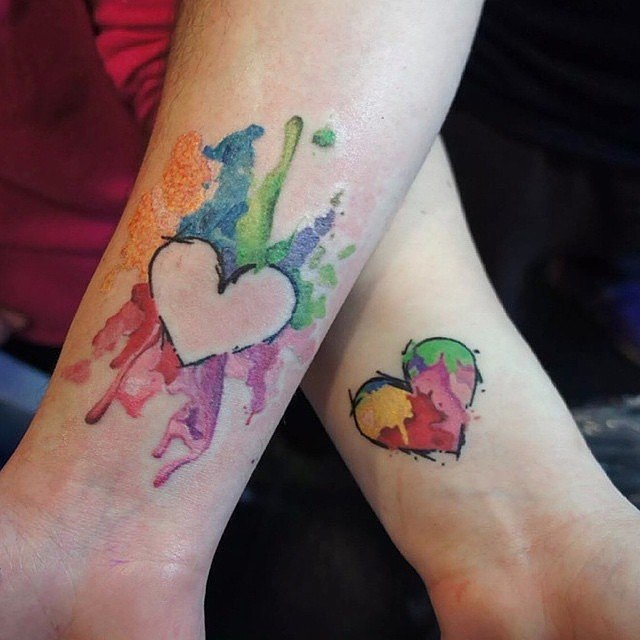 Matching Tattoos for Couple 7