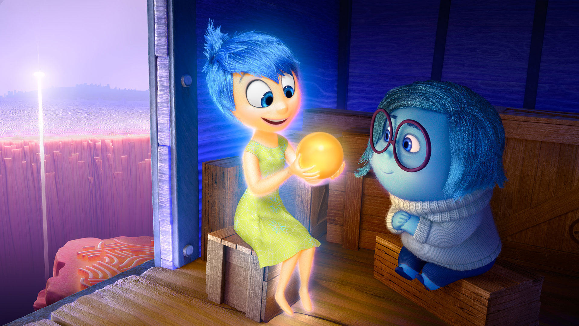 Inside Out Movie_Wallpaper HD