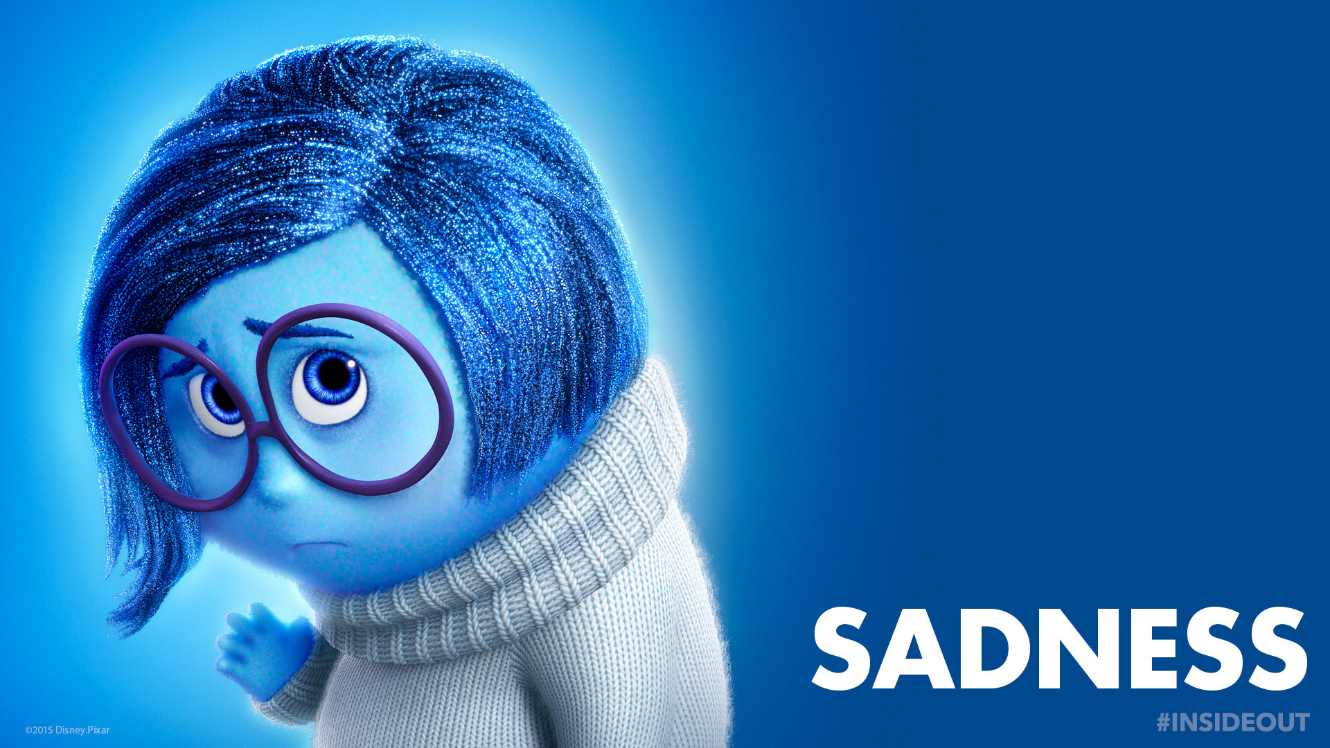Inside Out-Sadness Wallpaper backgrounds 2015