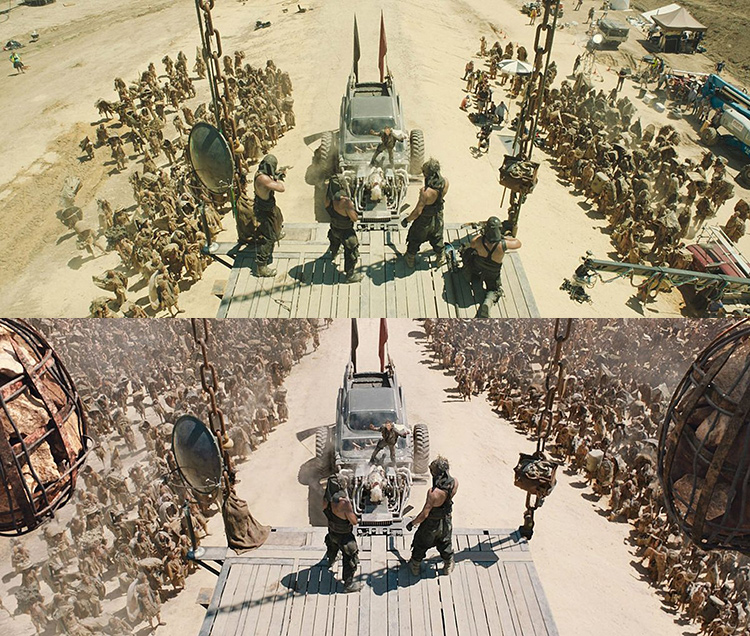 Mad Max-Fury Road Before and After Comparisons of the Visual Effects 4
