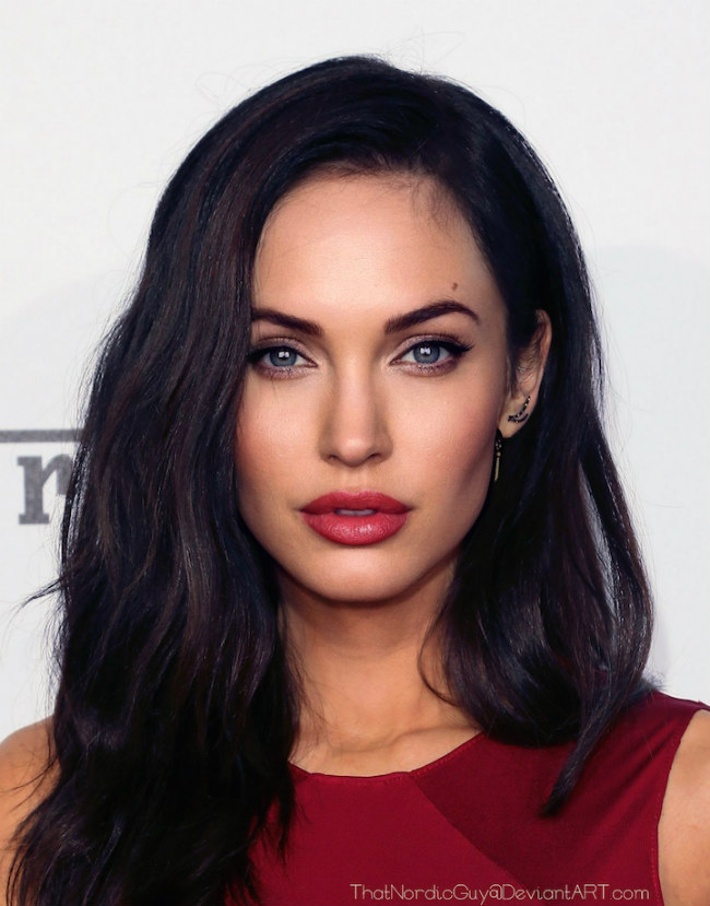 Photo Manipulations Combine Megan Fox -Angelina Jolie