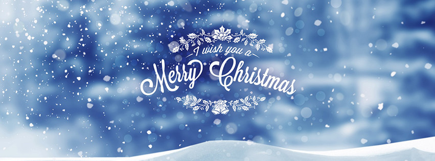 Facebook Cover Photo I wish you a Merry Christmas