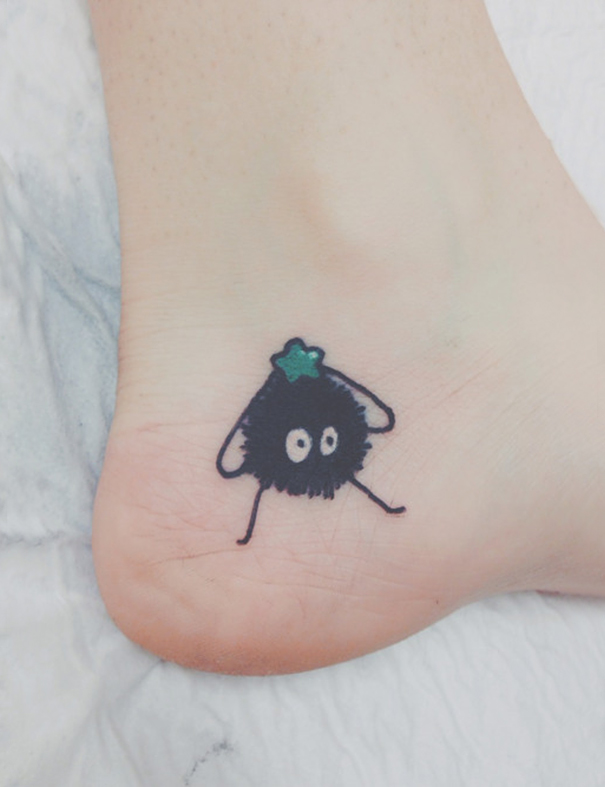 Sootball From Spirited Away Tattoo