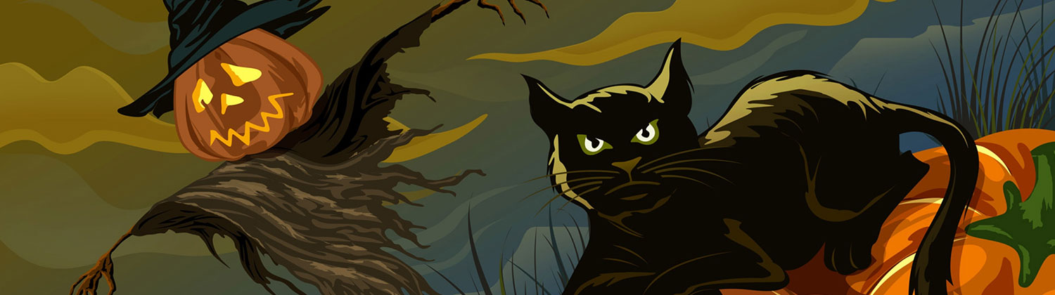 Halloween Scary Twitter Header image