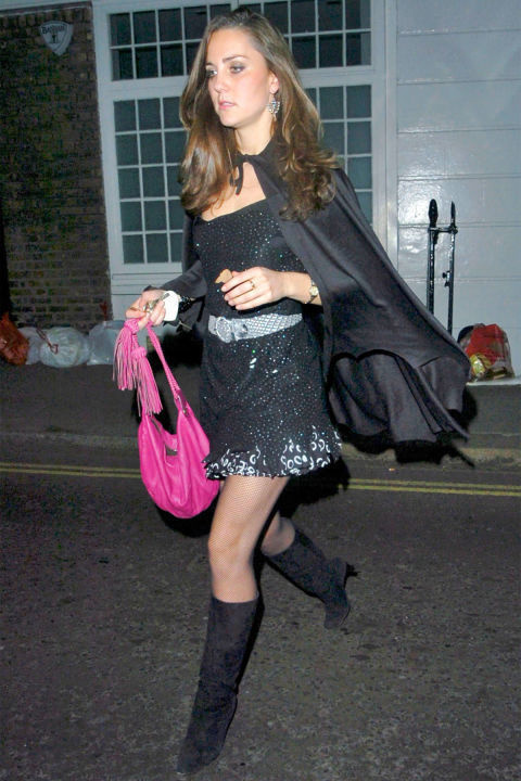 Kate Middleton as a witch Halloween Celebrities