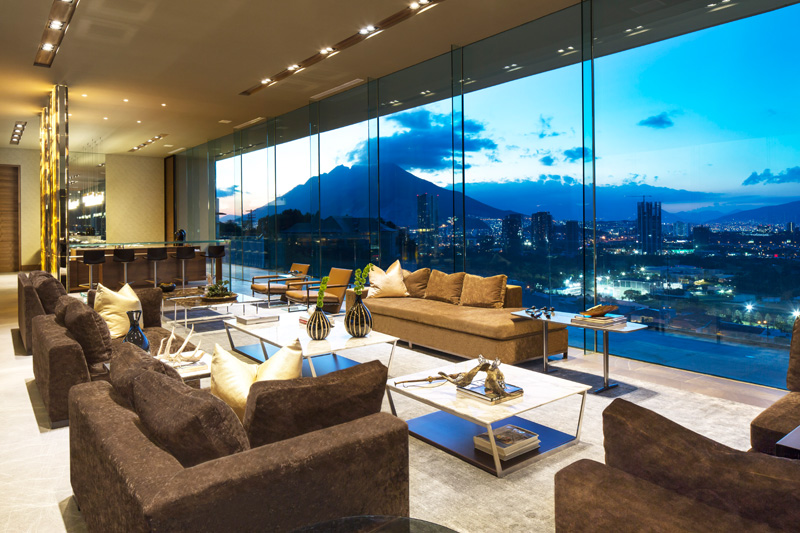 MT House with an Amazing City View in Monterrey Mexico 13