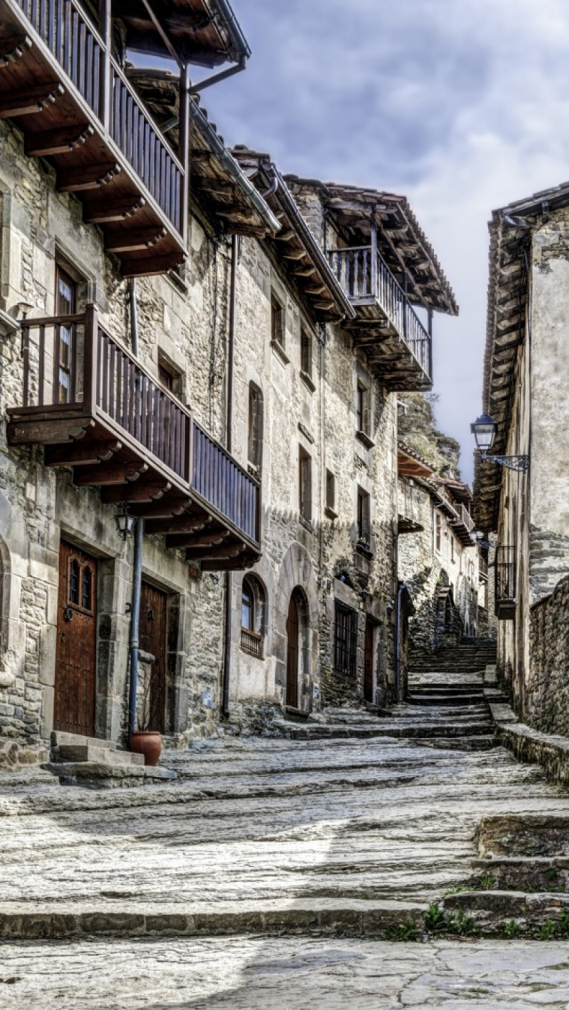 Rupits Natural Stone Street Catalonia iphone 6 iphone 6s wallpaper