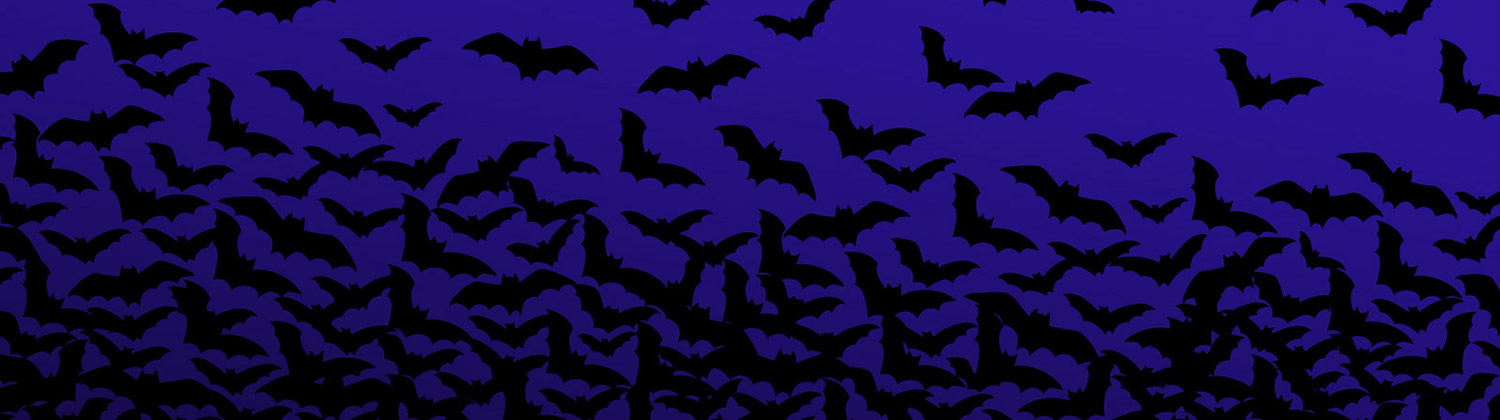 Scary Bat Halloween twitter header-image