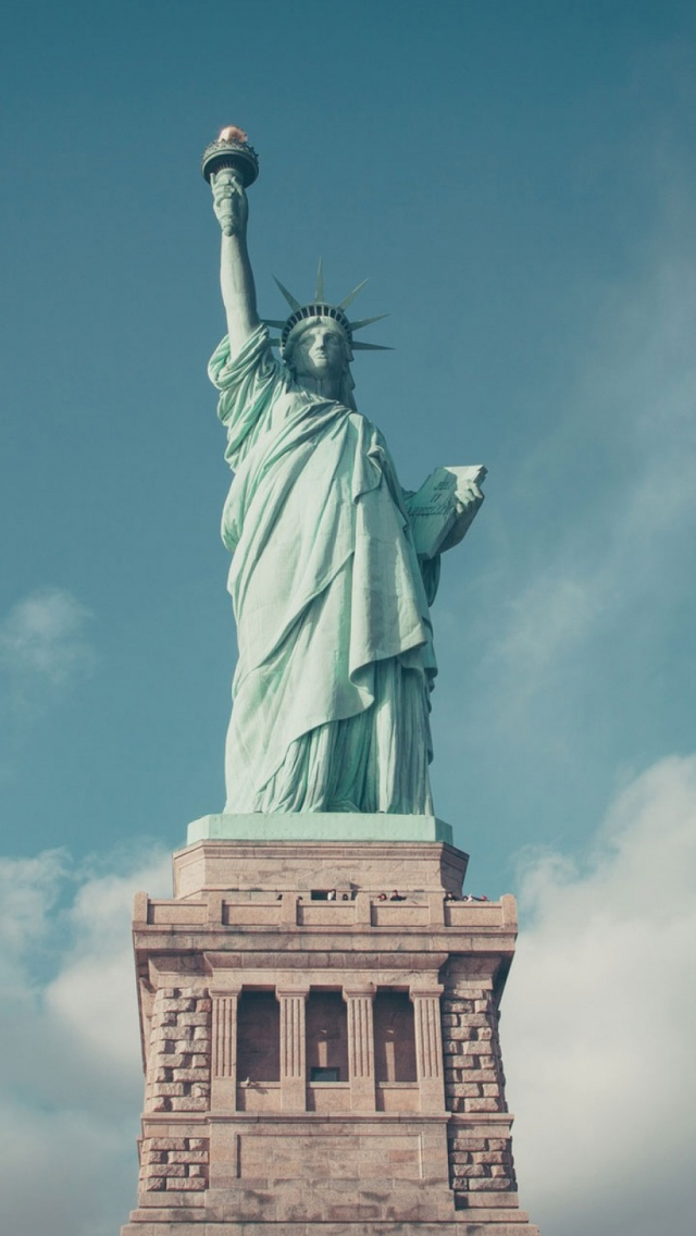 Statue of Liberty iphone 6 iphone 6s wallpaper