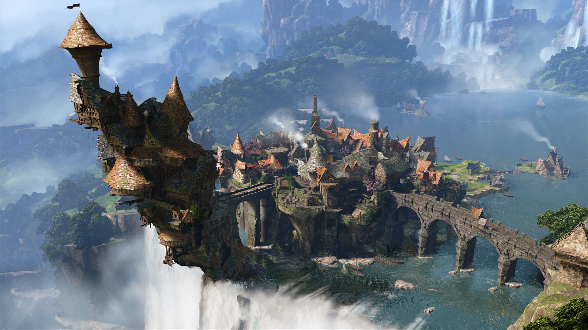 Fable Legends Game Architecture Wallpaper 2