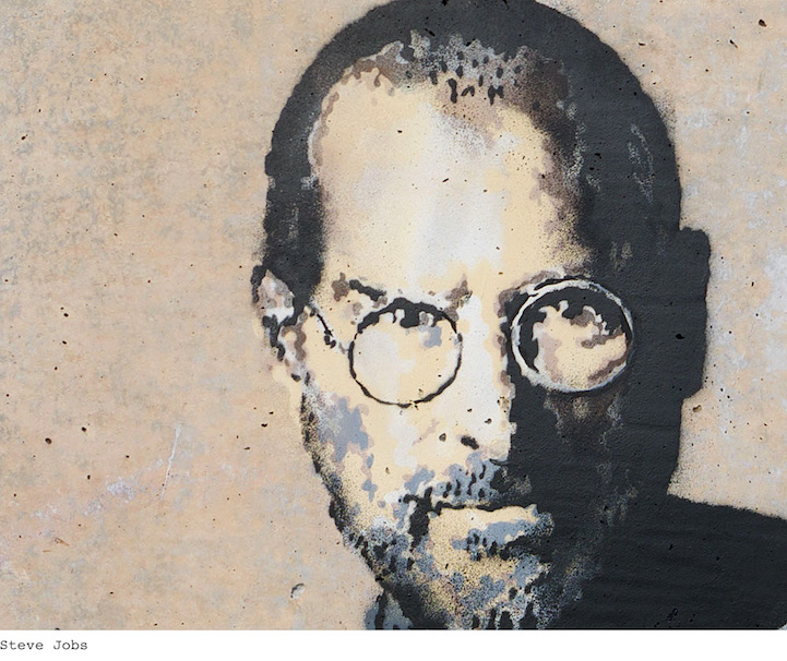 Banksy Steve Jobs artwork to highlight Syria refugee crisis 4