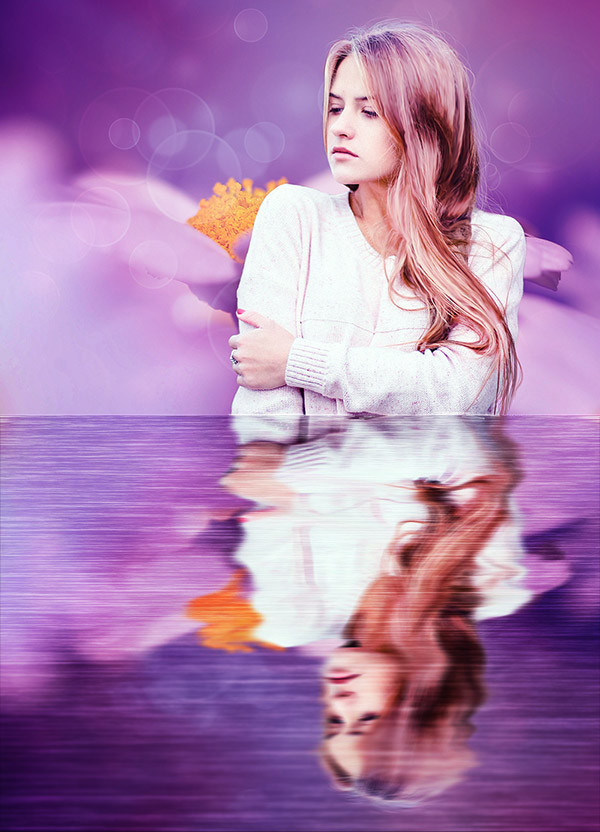 Create Reflection to Your Photos in Photoshop