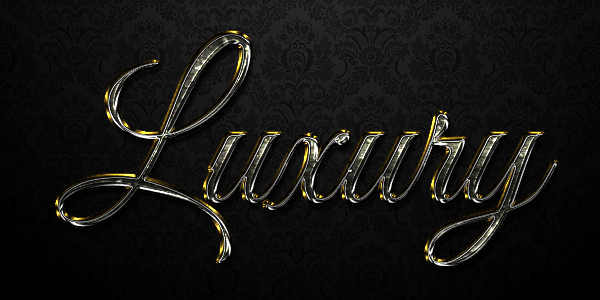 Create a Luxurious Text Effect in Adobe Photoshop