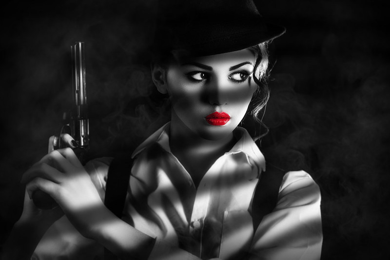 Create a Sin City Style Film Noir Effect in Photoshop