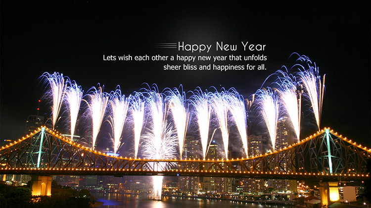 Happy New Year Wishes Card 2