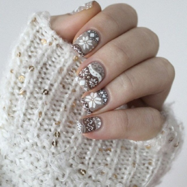 Manicure Ideas for Christmas 2
