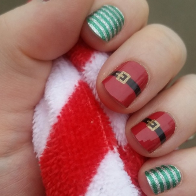 Manicure Ideas for Christmas 20